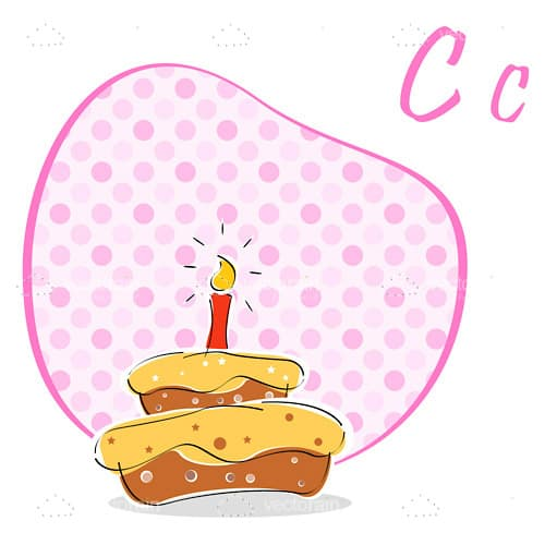 C for cake