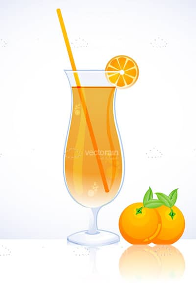 Tangy orange juice