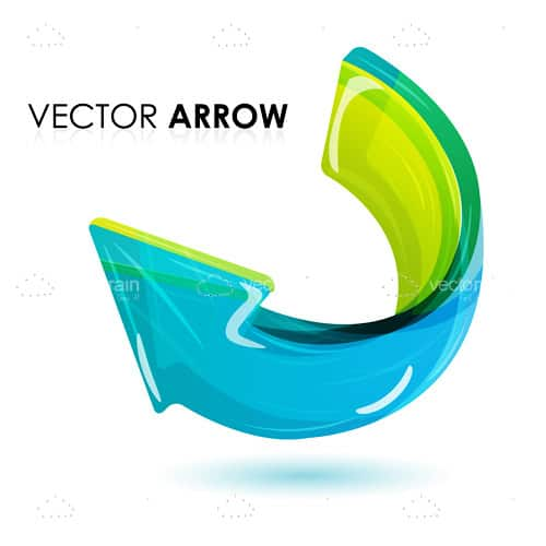 Vector arrow