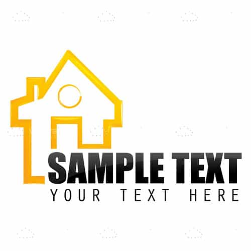 Home with sample text