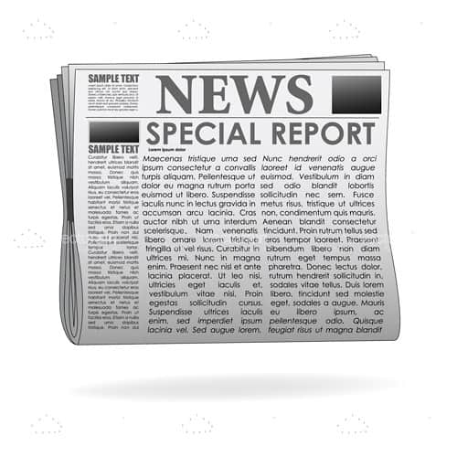 Special report  news paper