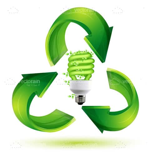 Recycle cfl