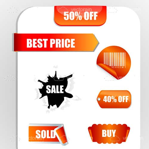 Sales and discount tags