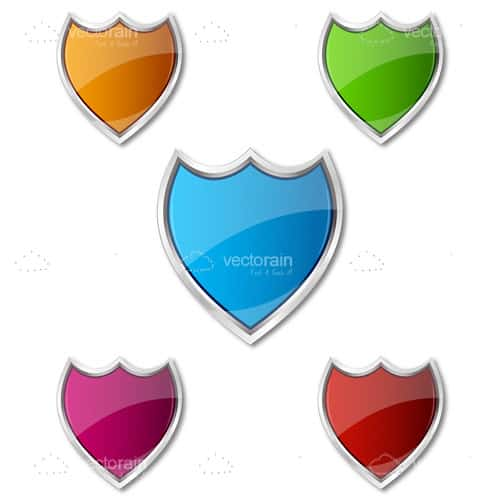 Colorful shield