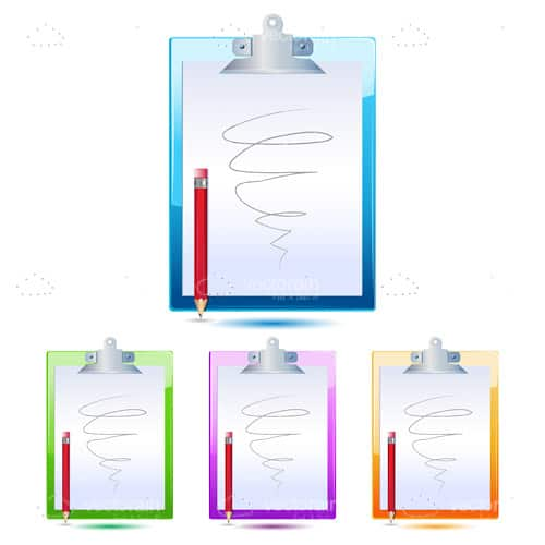 Letter pad with pencil
